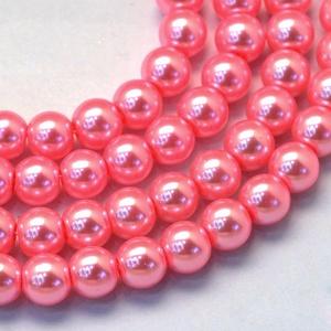 Viaszgyöngy-29 (Ø 10 mm/~ 40 db) - pink (csimbo) - Meska.hu