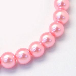 Viaszgyöngy-31 (Ø 10 mm/~ 40 db) - pasztell rózsaszín (csimbo) - Meska.hu