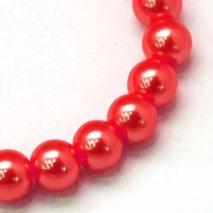 Viaszgyöngy-2 (Ø 14 mm/15 db) - piros, Gyöngy, ékszerkellék, Gyöngy,  Viaszgyöngy-2 - piros  Méret: Ø 14 mmFurat: 1 mm  A csomag tartalma: 15 db viaszgyöngy Az ár egy c..., Alkotók boltja