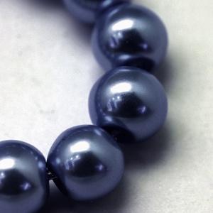 Viaszgyöngy-17 (Ø 3 mm/~ 250 db) - sötétkék (csimbo) - Meska.hu