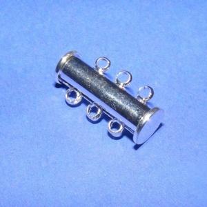 Mágneses csőkapocs (331. minta/1 db) -  3 soros - Meska.hu