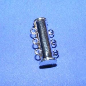 Mágneses csőkapocs (331. minta/1 db) -  3 soros (csimbo) - Meska.hu