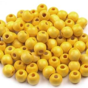 Festett fagyöngy-95 (Ø 18 mm/10 db) - citromsárga, Gyöngy, ékszerkellék,  Festett fagyöngy-95 - citromsárga  Mérete: Ø 18 mmFurat: 5 mm  A csomag tartalma: 10 db gyöngy Az ..., Meska