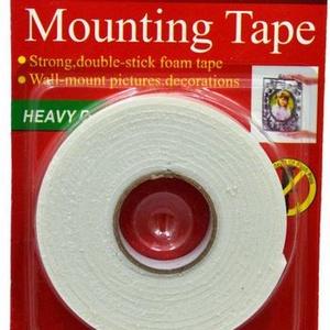 Mounting Tape kétoldalas ragasztószalag (1,8 cm/4,5 m), Ragasztó, Mindenmás, \nMounting Tape kétoldalas ragasztószalag - habosított\n\nMérete: 18 mm széles, 3 mm vastagEgy tekercs ..., Meska