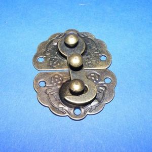 Doboz csat (9. minta/1 db) - bronz (csimbo) - Meska.hu