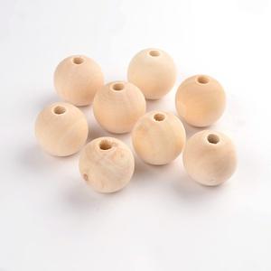 Natúr fagolyó (Ø 25 mm/1 db), Gyöngy, ékszerkellék,  Natúr fagolyó  Mérete: Ø 25 mmA furat mérete: kb. 5 mmAnyaga: natúr fa, nem pácolt, nem kezelt Az á..., Meska