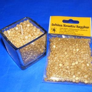 Gyertyagyöngy (40 g) - kókusz-vanília - tégelyes (csimbo) - Meska.hu