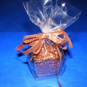 Gyertyagyöngy (40 g) - sárgadinnye-papaya - tégelyes (csimbo) - Meska.hu