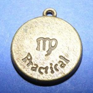 Medál (horoszkóp/1 db) - szűz (csimbo) - Meska.hu