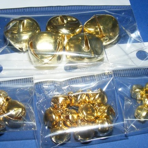 Arany csörgő (1. minta/10 db) - 10 mm (csimbo) - Meska.hu