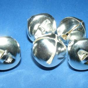 Ezüst csörgő (3. minta/4 db) - 18 mm (csimbo) - Meska.hu