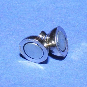 Mágneses kapocs (304. minta/1 db) - 11x6 mm (csimbo) - Meska.hu