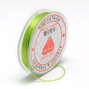 Gumis damil (Ø 0,6 mm/~ 10 m) - zöld (csimbo) - Meska.hu
