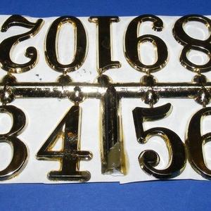 Arab számsor (103. minta/arany) - 30 mm (csimbo) - Meska.hu
