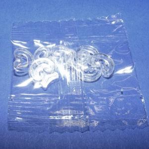 C-kapocs gumigyűrűs karkötőhöz (10 db/csomag)  - Meska.hu