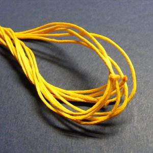 Viaszos szál-3 (5 db/csomag) - citromsárga - Meska.hu