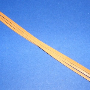 Bőrszíj - 3x1 mm (101. minta/1 db) - narancssárga (csimbo) - Meska.hu
