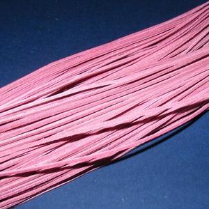 Bőrszíj - 2x1 mm (113. minta/1 db) - rózsaszín - Meska.hu