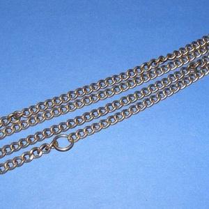 Szerelt lánc (10. minta/1 db) - 7,5x5,5x1,5 mm (erős) - Meska.hu