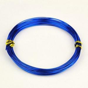 Alumínium drót-9 (1 mm/~ 10 m) - kék (csimbo) - Meska.hu