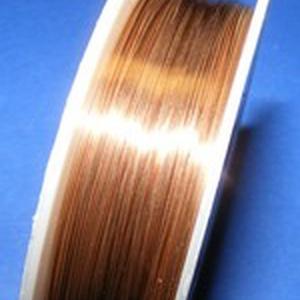Ékszerdrót (Ø 1 mm/1 db) - réz színű (csimbo) - Meska.hu