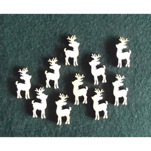 Karácsony  (7.minta/1 db) - kicsi szarvas, Fa, Famegmunkálás, Egyéb fa,  Karácsony (7.minta/1 db) - kicsi szarvas    Mérete: 17x30 mmAnyaga: natúr rétegelt lemezAnyagva..., Alkotók boltja