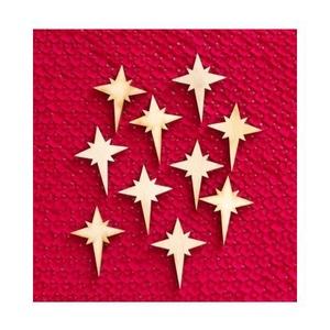 Karácsony  (11.minta/1 db) - kicsi csillag, Fa, Famegmunkálás, Egyéb fa, \nKarácsony (11.minta/1 db) - kicsi csillag\n\r\n\r\n\nMérete: 30x40 mmAnyaga: natúr rétegelt lemezAnyagva..., Meska