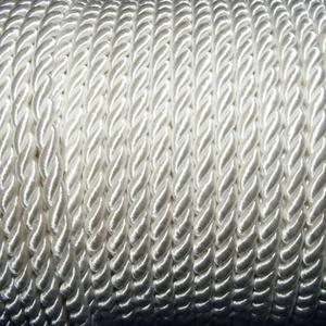 Sodrott zsinór - 5 mm (ZS0S/1 m) - fehér (csimbo) - Meska.hu