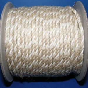 Sodrott zsinór - 3 mm (Nyers juta)  (csimbo) - Meska.hu