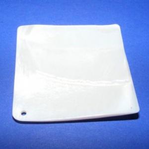 Fúrt kagyló ékszer alap (21. minta/2 db) - lila (csimbo) - Meska.hu