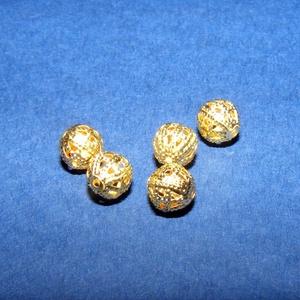 Díszes gömb (K72. minta/1 db) - 10 mm (csimbo) - Meska.hu