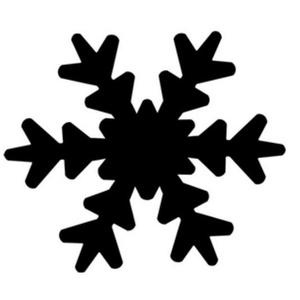 Dekorgumi- és papírlyukasztó (28. minta/1 db) - hópihe - 25 mm (csimbo) - Meska.hu