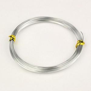 Alumínium drót-1 (1 mm/~ 5 m) - ezüst (csimbo) - Meska.hu