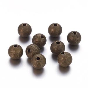 Bronz köztes (618/E minta/10 db) - Ø 8 mm - Meska.hu