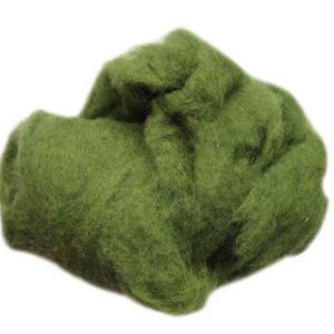 Festett gyapjú (5 g) - zöld, Textil, Varrás, \nFestett gyapjú - zöld\n\nKiszerelés: 5 g\nTöbbféle színben.Az ár 5 g termékre vonatkozik.\r\n\r\n\r\n\r\n..., Meska