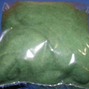 Festett gyapjú (5 g) - zöld - Meska.hu