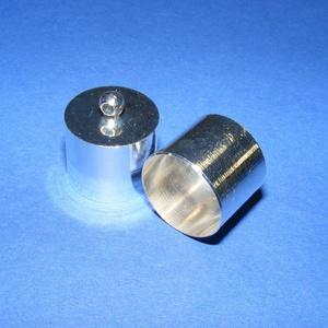 Bőrvég (49. minta/1 db) - 18x18 mm (csimbo) - Meska.hu