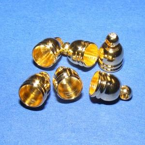Bőrvég (50 minta/1 db) - 9x6 mm (csimbo) - Meska.hu