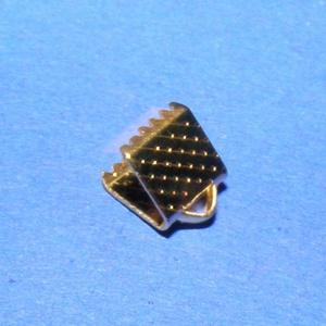 Szalagvég (1 minta/1 db) - 6x8x5 mm (csimbo) - Meska.hu