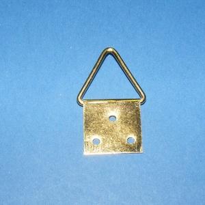 Képakasztó (4. minta/1 db) - 32x17 mm, Csat, karika, zár, Mindenmás, \n\r\n\n\nKépakasztó (4. minta) - arany\n\nMérete: 17x32 mm (teljes hossz az akasztó résszel)A rögzítő lap ..., Meska