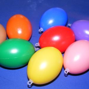 Műanyag tojás akasztóval (narancs/1db) 6cm (csimbo) - Meska.hu