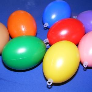 Műanyag tojás akasztóval (piros/1db) 6cm (csimbo) - Meska.hu