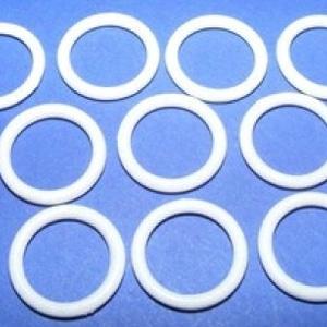 Műanyag karika 10/13mm (1 minta/10 db) - fehér (csimbo) - Meska.hu