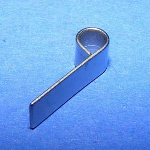 Medálrögzítő (352/F minta/1 db), Gyöngy, ékszerkellék,  Medálrögzítő (352/F minta) - ragasztható - platinum színben - nagy lyukú (4 mm)  Mérete: 14x4 mmFu..., Meska