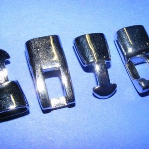 Kapocs 4mm-es bőrökhöz (318. minta/1 db) (csimbo) - Meska.hu