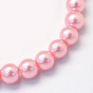 Viaszgyöngy-30 (Ø 10 mm/~ 40 db) - rózsaszín (csimbo) - Meska.hu