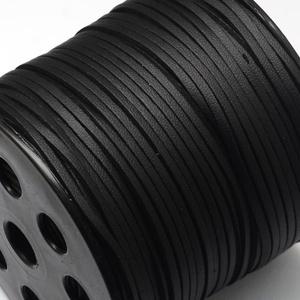 Szarvasbőr utánzat-2 (2,7x2 mm/1 m) - fekete (csimbo) - Meska.hu