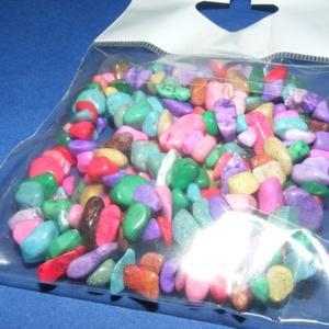 Ásványfüzér-49 (1 füzér) - szintetikus ásványkövek  (csimbo) - Meska.hu