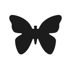 Dekorgumi- és papírlyukasztó (5. minta/1 db) - pillangó - 25 mm (csimbo) - Meska.hu