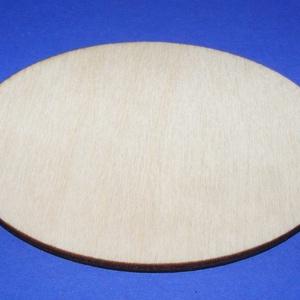 Fa alap (155. minta/1 db) - ovális (80x60 mm), Fa,  Fa alap (155. minta) - ovális   Mérete: 80x60 mmAnyaga: rétegelt lemezAnyagvastagság: 3 mm  Az ár e..., Meska